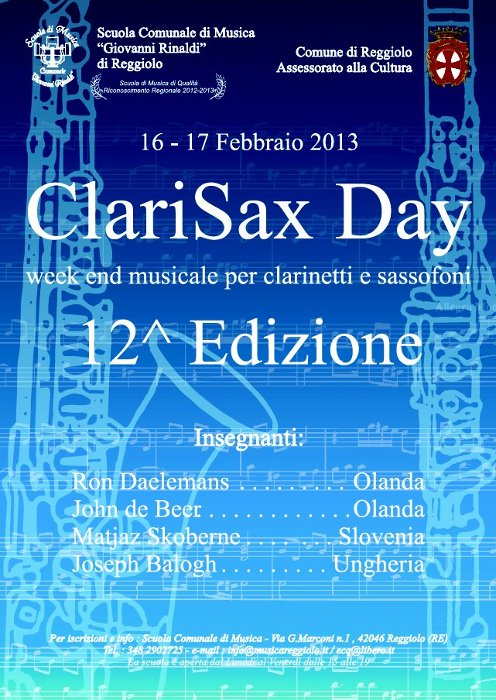 Clarisax day